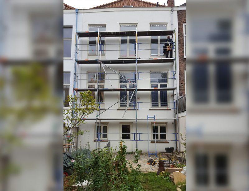 Veilige steiger bouw den haag
