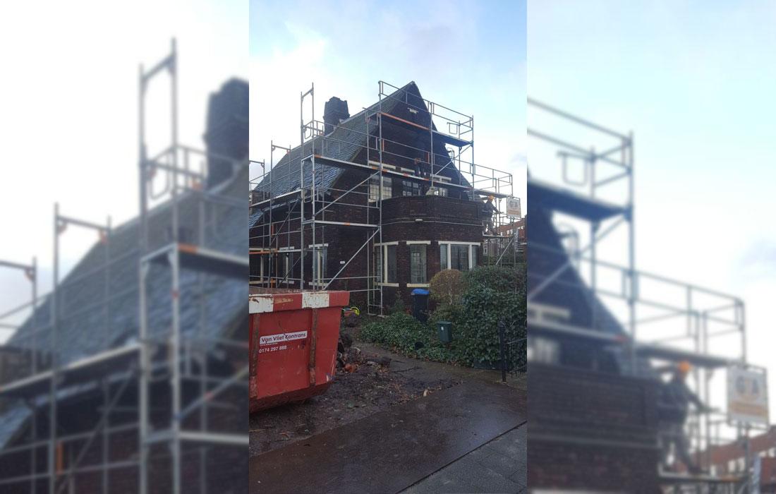 steiger huren Zuid-Holland renovatie