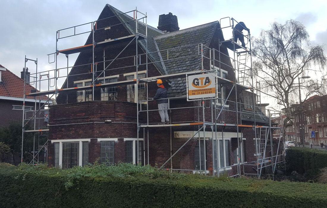 steiger opbouwe renovatie